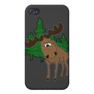 Cute moose cases for iPhone 4