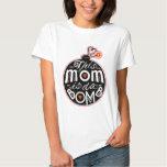 Cute Mother's Day Mum da Bomb Modern Typography Tee Shirt