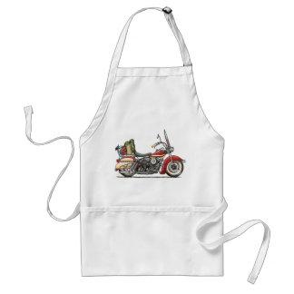 Cute Motorcycle Standard Apron