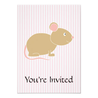 Cute mouse. card