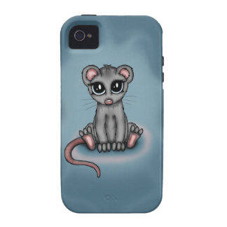 cute Mouse iPhone 4 Covers