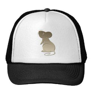 Cute Mouse digital art Cap