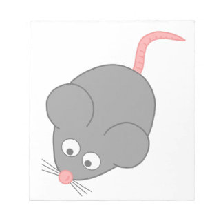 Cute Mouse Notepads