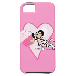 Cute Mouse With Cupcake iPhone 5 Covers