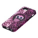 cute moustache owl iPhone 5 cases