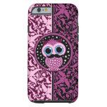 cute moustache owl tough iPhone 6 case