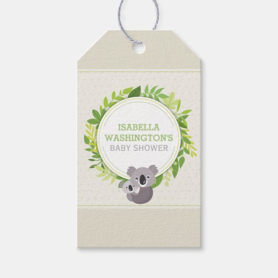 Cute Mummy Koala & Baby Koala Baby Shower