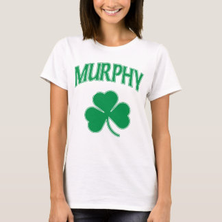 Cute Murphy Irish Shamrock T-Shirt