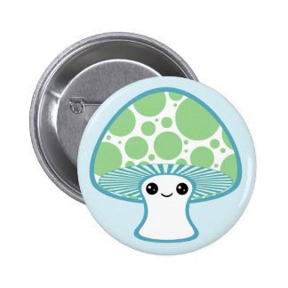 Cute Mushroom 6 Cm Round Badge