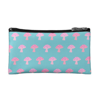 Cute Mushroom Cosmetic Bag