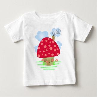 Cute Mushroom House Baby T-Shirt