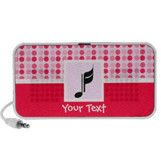 Cute Music Note Travelling Speaker