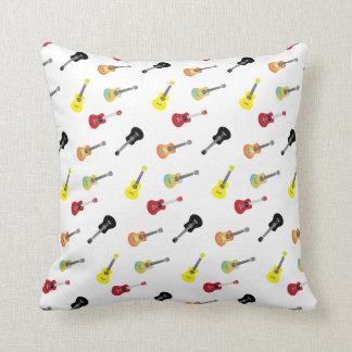 Cute Music Ukulele Patterns Cushion