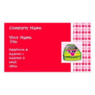 Cute Nascar Double-Sided Standard Business Cards (Pack Of 100)
