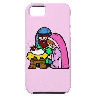 Cute Nativity Scene iPhone 5 Cases