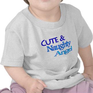Cute Naughty Angel fun blue design Shirt