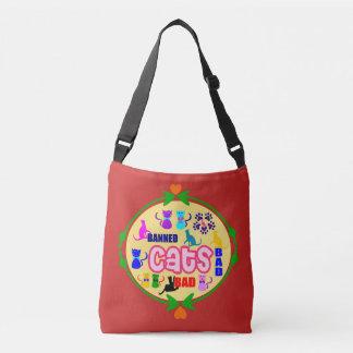 😻🐾↷❤Cute Naughty Cat Family Fabulous Classic Crossbody Bag
