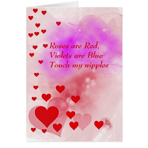 Cute Naughty Valentines Day Card
