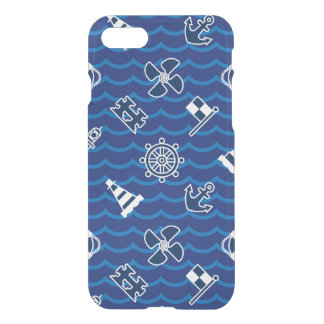 Cute Nautical Waves Pattern iPhone 8/7 Case