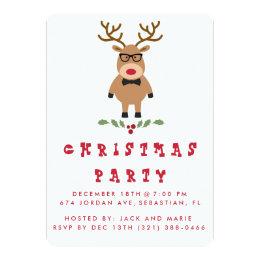 Funny Christmas Invitations Announcements Zazzlecouk