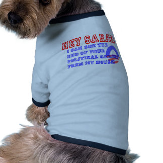 Cute New Sarah Palin Election Gifts Doggie Shirt