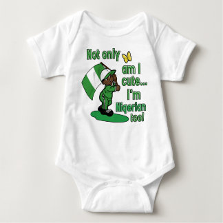 Cute Nigerian baby design Baby Bodysuit