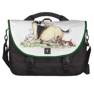 Cute Nigerian Dwarf Goat and Kids Commuter Bags