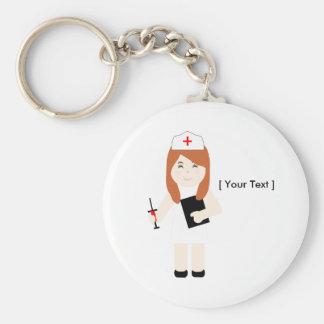 Cute Nurse 5 Keychain