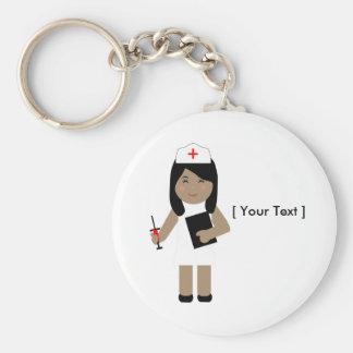 Cute Nurse One Keychain