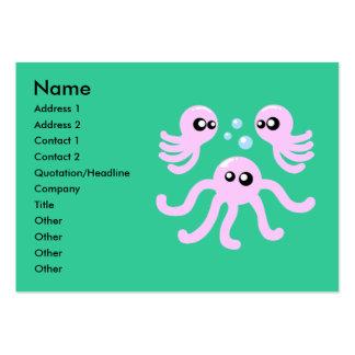 Cute Octopus Business Cards
