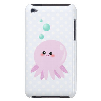 Cute octopus cartoon barely there iPod cover