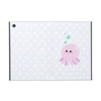 Cute octopus cartoon iPad mini cover