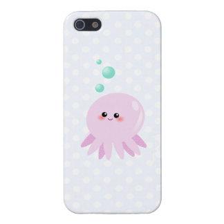 Cute octopus cartoon cases for iPhone 5