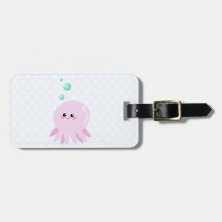 Cute octopus cartoon bag tags