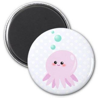 Cute octopus cartoon magnet