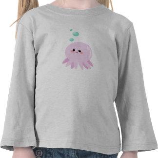 Cute octopus cartoon tee shirts