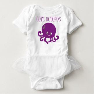 Cute-Octopus Clip Art Baby Bodysuit