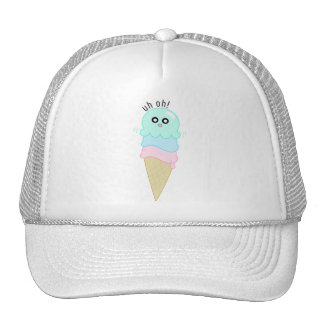 Cute Octopus Ice Cream Trucker Hat