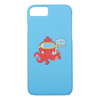 Cute Octopus iPhone 8/7 Case