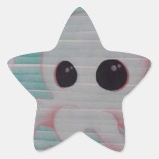 Cute Octopus Star Sticker
