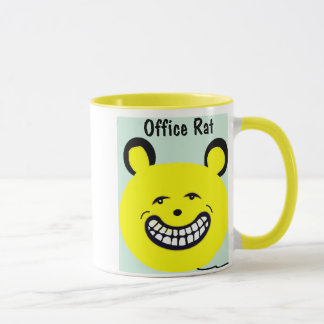 Cute Office Coffee Mug that says Office Rat