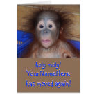 Cute On the Move New Address Card