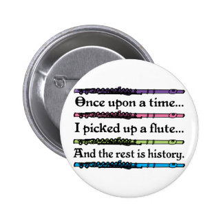 Cute Once Upon A Time Flute Pins