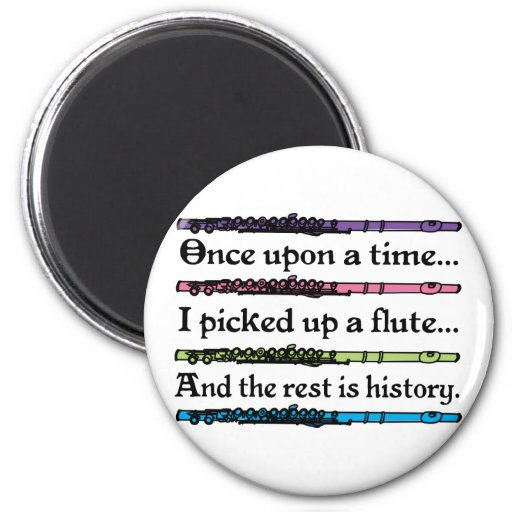 Cute Once Upon A Time Flute Fridge Magnets