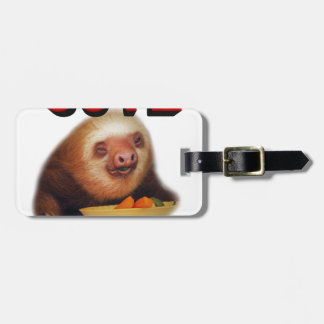 cute or what luggage tag