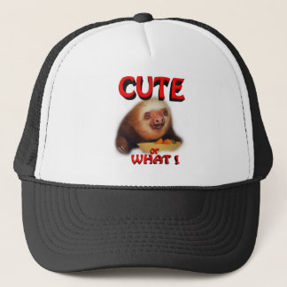 cute or what trucker hat