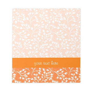 Cute orange and white autumn berries notepad
