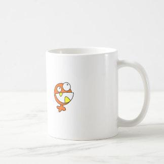 Cute Orange Baby Monster Mug