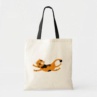 Cute orange cat Bag