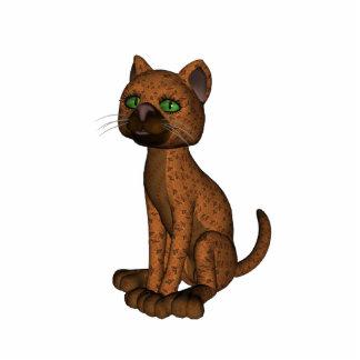 Cute Orange Cat Photo Cutout